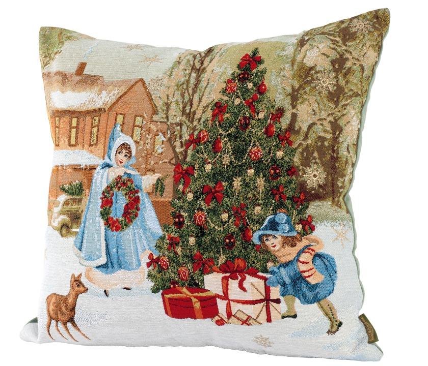 2021 Новогодние гобелены: календари, скатерти, салфетки, подушки и подарки
